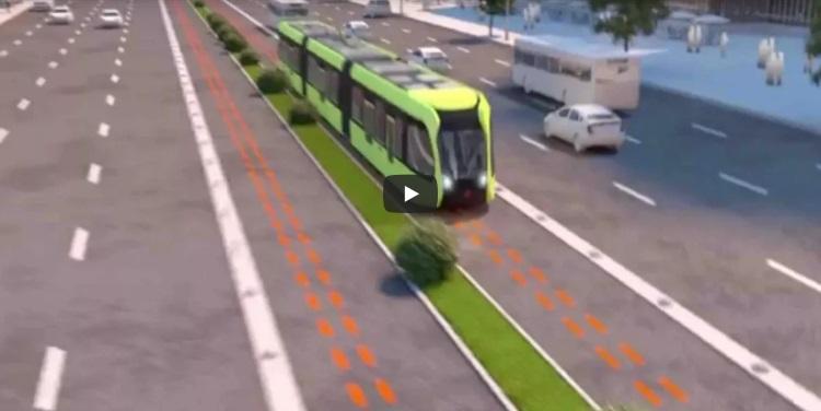 Китай тестирует электрический поезд