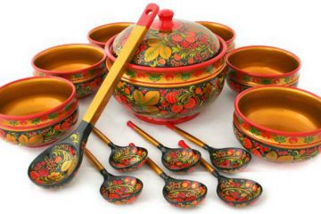 Хохлома - традиционное народное русское ремесло