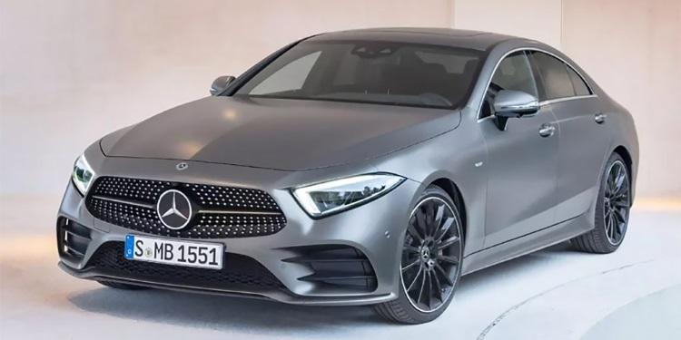 Новый Mercedes-Benz CLS рассекретили
