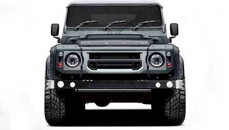 шестиколесный Land Rover Defender