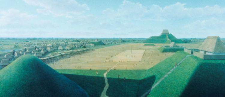 Кахокия - первый город Северной Америки