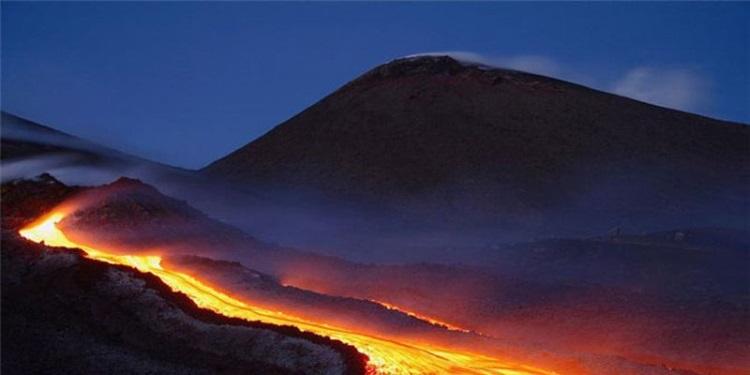 вулканы впечатляют