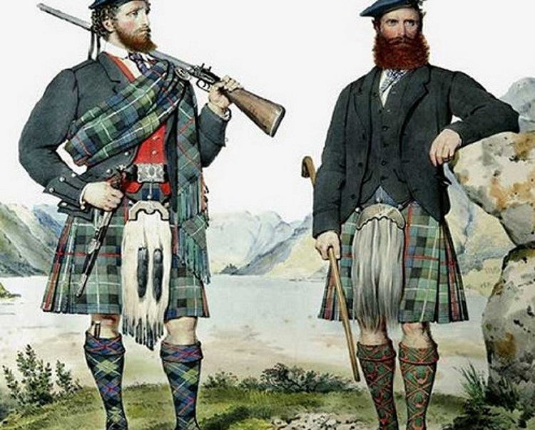 шотландцы в России
