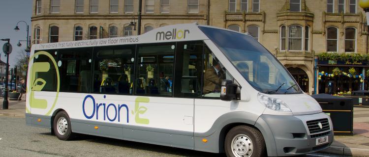 электрический микроавтобус Emoss