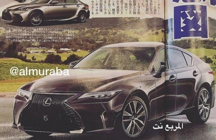 Новый Lexus IS