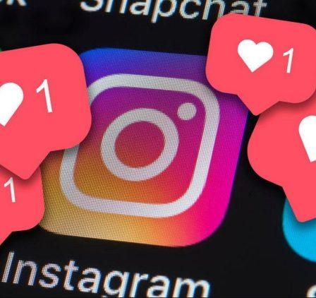 социальные сети: Instagram